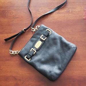 Michael Kors Hamilton leather crossbody